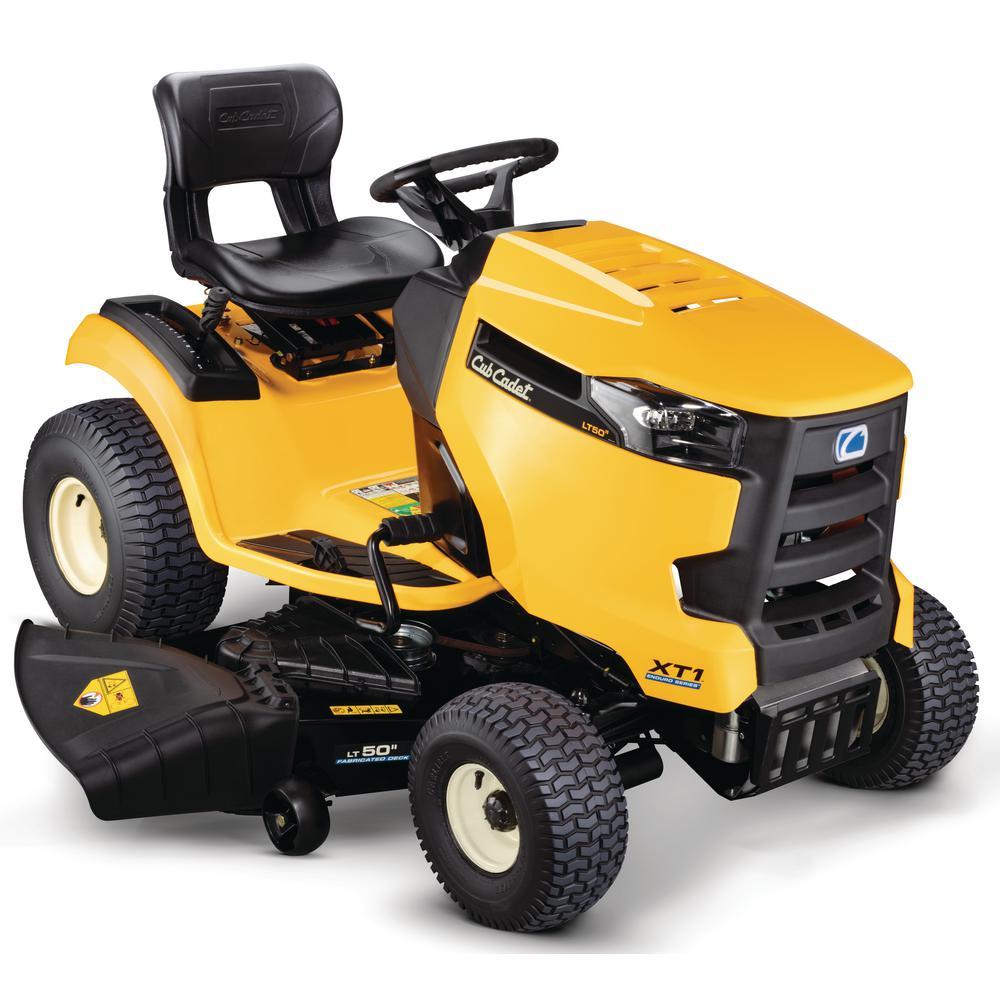 cadet lawn cub xt1 riding tractor lt50 mower deck hp tractors engine fab series garden kohler lt enduro hydrostatic mowers
